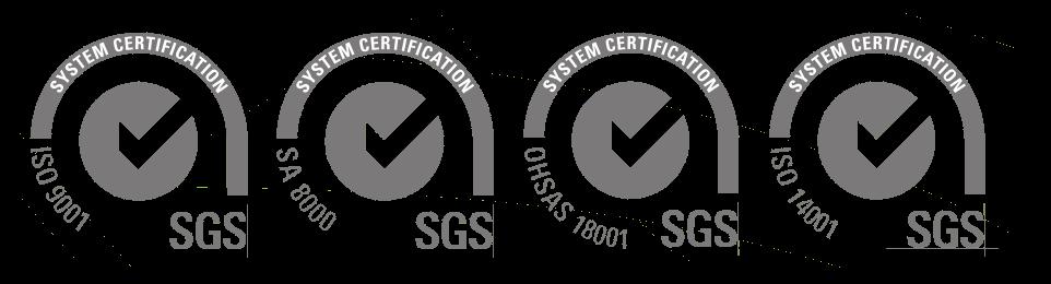 loghi 4 certificazioni